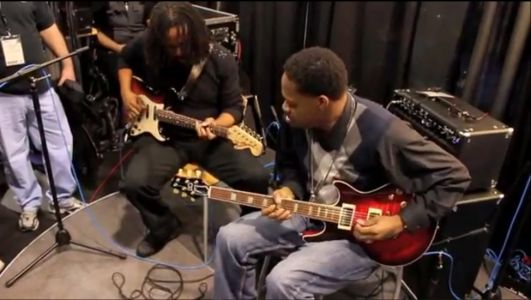 Jamming with Eric Gales